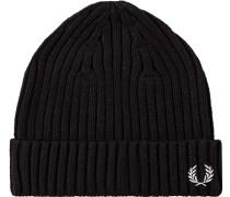 Herren  FRED PERRY Mütze Baumwolle schwarz
