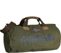 Tasche Reise-Tasche, Baumwolle, oliv