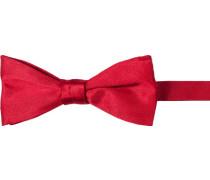 Herren Krawatte  Schleife Seide rot