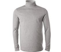 Pullover Rollkragen, Regular Fit, Baumwolle