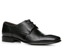 Schuhe Derby, Kalbleder,