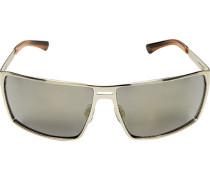 Herren Brillen  Sonnenbrille Metall silber-grau