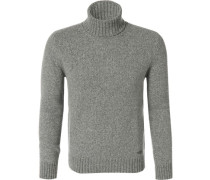 Pullover Pulli, Wolle, meliert