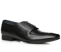 Schnürschuhe Leder schwarz