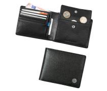 Herren Calvin Klein Bluejeans Geldbörse Leder schwarz