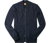 Cardigan Wolle nachtblau