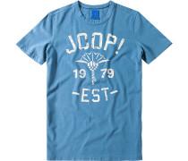 T-Shirt, Regular Fit, Baumwolle,