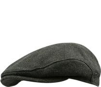 Sportmütze Wolle windabweisend khaki