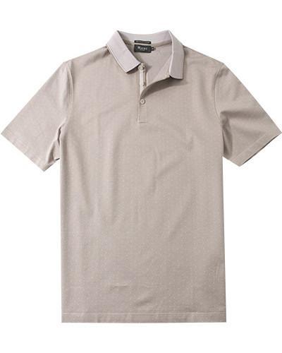 Polo-Shirt, Baumwolle mercerisiert, gemustert