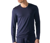 Schlafanzug Longsleeve Micromodal nachtblau