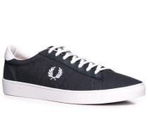 Schuhe Sneaker Textil navy ,weiß