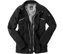 Jacke, Classic Fit, Microfaser,