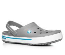 Schuhe Pantoletten Gummi hellgrau