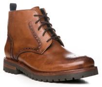 Schuhe Boots, Leder, cognac