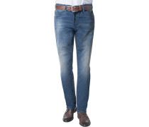 Cosy Blue-Jeans Baumwoll-Stretch