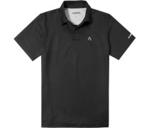 Herren Polo-Shirt Polo DryComfort schwarz