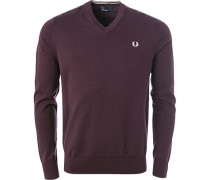 Pullover, Baumwolle, mauve