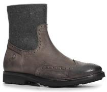 Schuhe Stiefeletten Leder-Filz