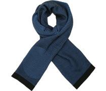 Schal Wolle nachtblau