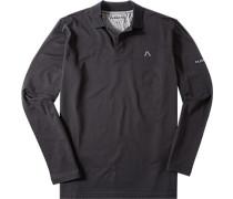 Herren Polo-Shirt Polo Drycomfort dunkelgrau