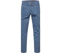 Jeans, Baumwoll-Stretch, kobaltblau