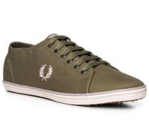 Schuhe Sneaker, Textil, olivgrün