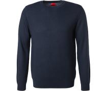 Pullover Pulli, Schurwolle, navy
