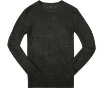 Pullover, Leinen, meliert