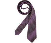 Herren Krawatte  violett