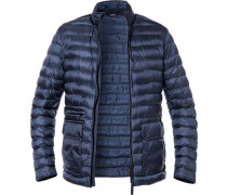 Steppjacke, Microfaser Isocloud500, navy