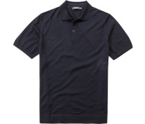 Polo-Shirt Schurwoll-Strick