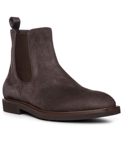 HUGO BOSS Herren Schuhe Chelsea Boots, Veloursleder