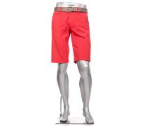 Hose Bermudashorts Modern Modern Fit 3xDry Cooler hellrot