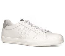 Herren Schuhe Sneaker Leder weiß