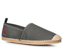 Schuhe Espadrilles Baumwolle graugrün meliert