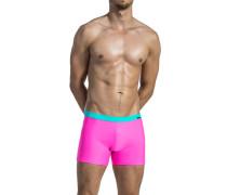 Herren Bademode Badetrunk Microfaser-Stretch pink rosa