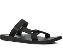 Schuhe Pantoletten Textil