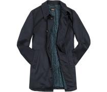 Herren strellson Premium Mantel Jeffrey wattiertes Steppfutter dunkelblau blau,blau