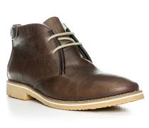 Herren Schuhe STANTON Rindleder warm gefüttert braun