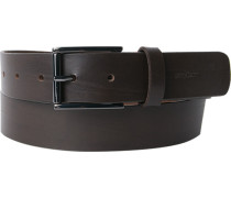 Gürtel dunkelbraun Breite ca. 3,5 cm