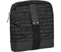 Herren Tasche  Umhängetasche Textil schwarz