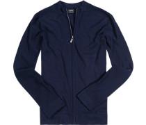 Cardigan Baumwolle nachtblau
