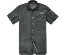 Hemd, Modern Fit, Baumwolle, khaki