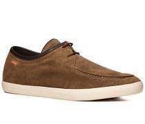 Herren Schuhe Desert Boots Veloursleder braun braun,braun