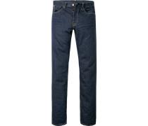 Slim Fit Baumwolle 13 oz jeansblau