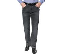 """Herren Blue-Jeans Berry Modern Fit Denim-Stretch anthrazit """""""