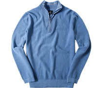 Pullover Troyer Classic Fit Baumwolle