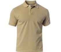 Polo-Shirt Polo Baumwoll-Piqué oliv