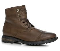Schuhe Schnürstiefeletten Leder