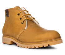 Schuhe VIN Rindleder warmgefüttert camel